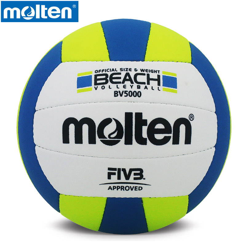 original Molten BV5000 Men's women's volleyball Size 5 Series PU Material Official Molten Brand Professional volleyball ball(China (Mainland))
