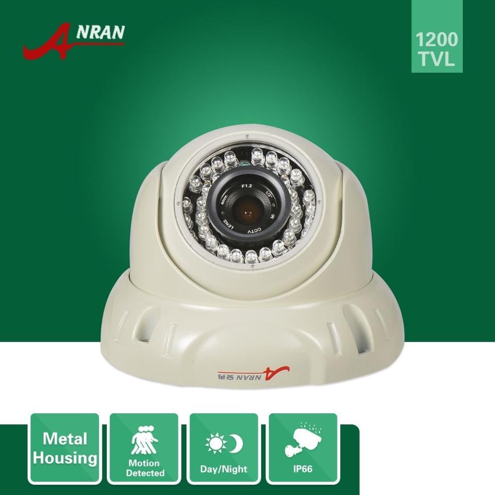 ANRAN HD 1200TVL SONY CMOS Dome Day Night Indoor Outdoor Surveillance Security CCTV Camera<br><br>Aliexpress
