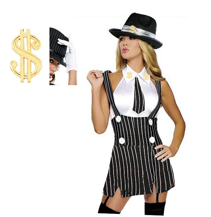 Gangster Halloween Costumes 80891 POSTQUARE