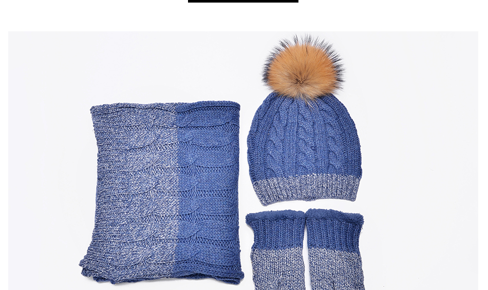 hat and scarf Glove Set TZ007 PC (7)