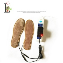 LCX winter Warming USB Electric Powered Heated Insoles For Shoes Boots Keep Feet Warm New USB heated insole for men women S1