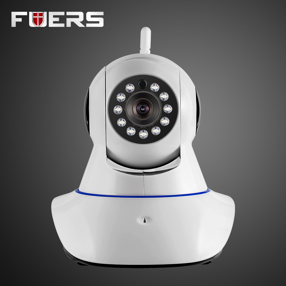 New Security Network CCTV WIFI IP camera Megapixel HD 720P Wireless Digital Security IR-CUT Night Vision Camera for Alarm System<br>