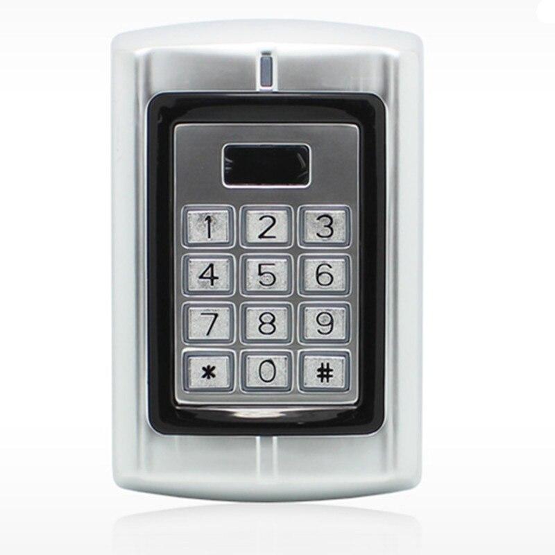2000 User Metal  125KHZ ID Card Password Non-Contact Rain-proof   Door Access Control <br>
