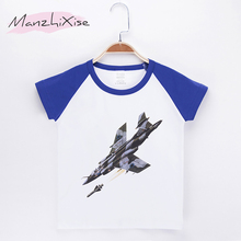 2018 Special Discount Kids T-shirt For Children Fighter 3D Print O-Neck Top Cotton Boy Short T Shirts Baby Boys Clothes Tops Tee(China)