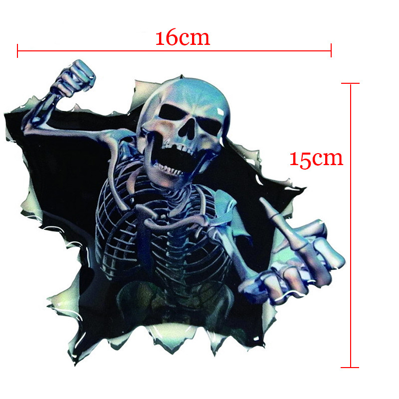 New-Funny-Car-Sticker-Skull-Car-Hoods-Trunk-Thriller-Rear-Window-Decal-Car-Decal-Covers-Waterproof (3)