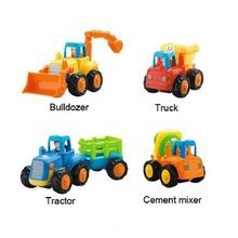 1pc In Stock Department Of 326 Toys Car Tractor Cartoon Cars Trucks Gifts For Boy
