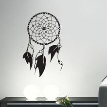 EHome Indian Amulets Decorative Vinyl Wall Decals Dream Catcher Home Decor Wall Stickers In The Living Room