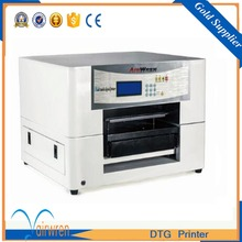 a3 t shirt DTG printing machine direct to garment printer with acroRIP software(China)