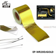 "Hubsports - EPMAN 2""x5 Meter Reflect A Gold Performance Heat Protection Tape/Barrier For Toyota corolla HU-WR20DJGOLD"