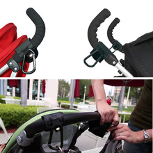 Rotatable Adjustable Baby Pushchair Pram Stroller Buggy Hanger Trolley Carabiner Clip Aluminum Hook and Strap