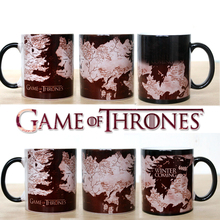 Surprise Gift!  Game Of Thrones mugs Winter is coming mug Magic color changing  mugs cup Tea coffee mug cup for friend gift