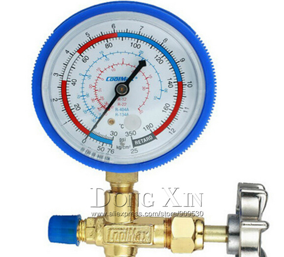 GEMEI CM-466GL low pressure single table valve refrigerant table for R410<br><br>Aliexpress