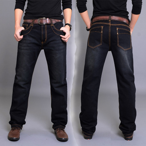 Free shipping Spring and summer mens clothing plus size trousers straight Full Length casual jeans male loose trousersОдежда и ак�е��уары<br><br><br>Aliexpress