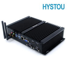 Intel Core i7 5550U Industrial Mini PC Windows 10 i5 4200U Fanless Computer For Data Analysis Monitoring System Industry Control
