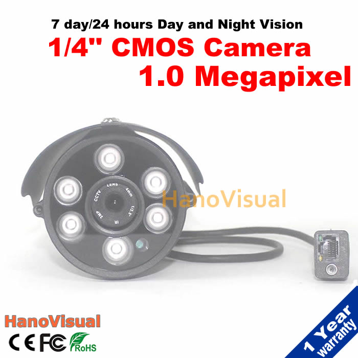 Free shipping! 1.0MP 6Array LEDs IR security ip camera outdoor ONVIF Night Vision Plug and Play home security Ip cam waterproof<br><br>Aliexpress