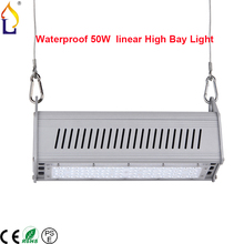 50/100W Linetype LED highbay light ,Hanging highbay Lamp SMD3030 AC85-265V daywhite led highbay lighting 6pcs/lot, Free shipping