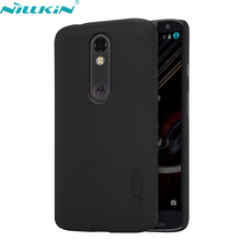 For Motorola MOTO X Force Case 5.4'' Droid Turbo 2 XT1580 XT1581 XT1585 Case NILLKIN Hard PC Shell Frosted Back Cover Phone Case(China)