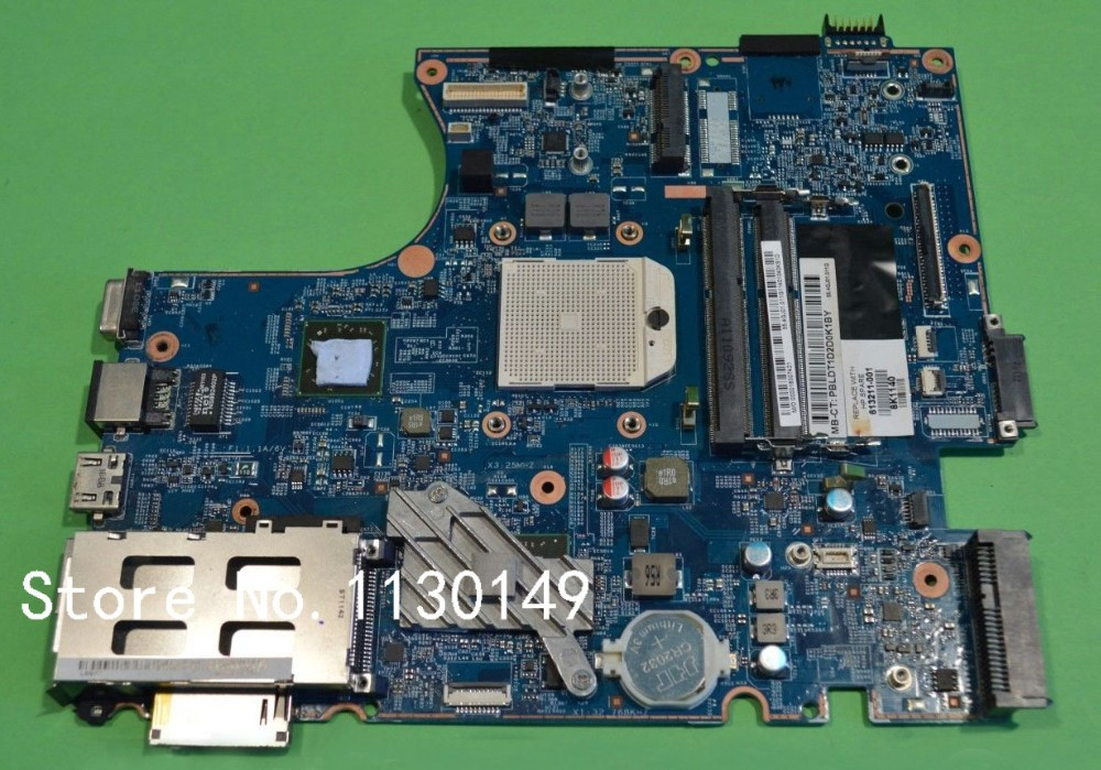 613211-001 Free Shipping FOR HP ProBook 4525s Laptop Motherboard 4525S Mainboard 100% tested<br><br>Aliexpress