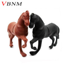 VBNM white horse style usb flash drive pretty cartoon pendrives 8gb 32gb cute animal memory stick 4gb 16gb pendriver