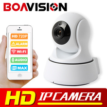 BOAVISION 1.0MP Wireless IP Camera WIFI Night Vision HD 720P Smart Camera Two Way Audio Home CCTV Surveillance Camera P2P View(China)