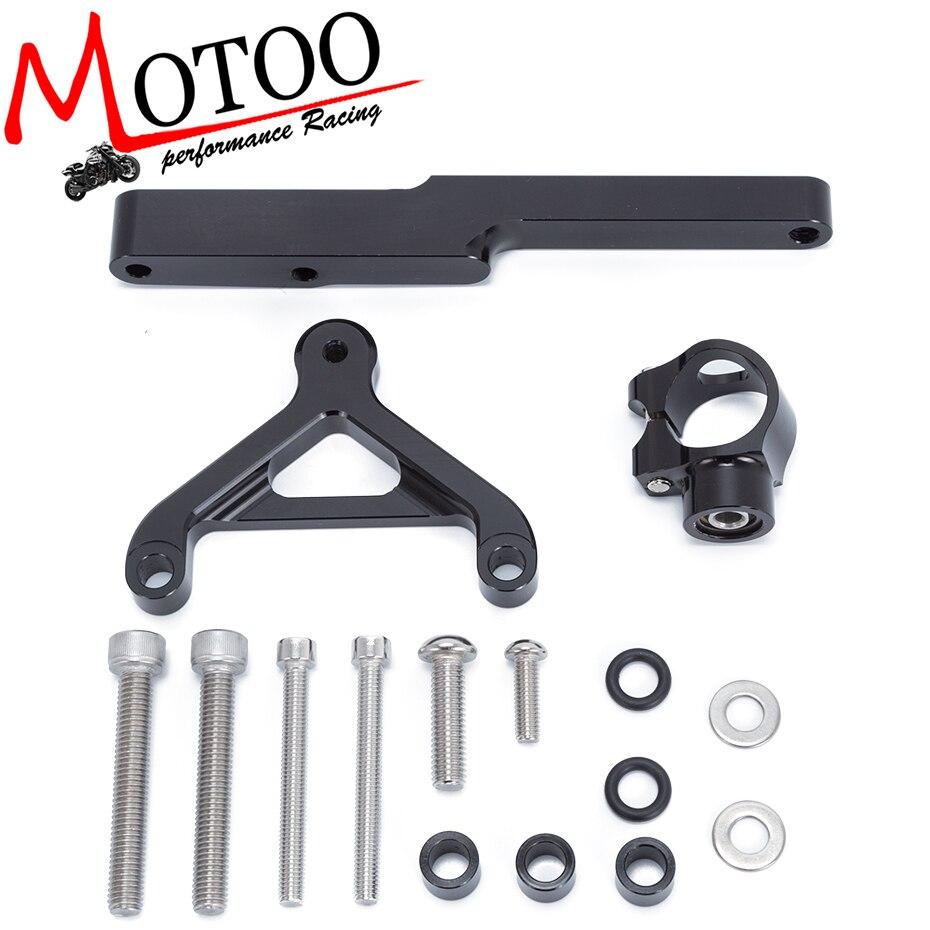 For HONDA CB1000R 2008-2016 Motorcycles Adjustable Steering Stabilize Damper Bracket Mount Support Kit Accessories<br>