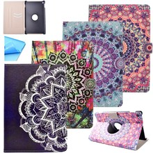 Fashion Flower  PU Leather Flip Cover Table Case For Amazon Kindle Fire HD 8 HD8 2016 8'' inch Tablet Shell Protector cover