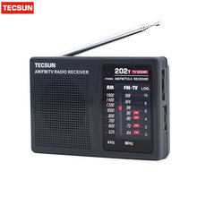 TECSUN R-202T FM/AM/TV Radio receiver Mini portable size. simple to control Economic battery consume than digital. Popular model