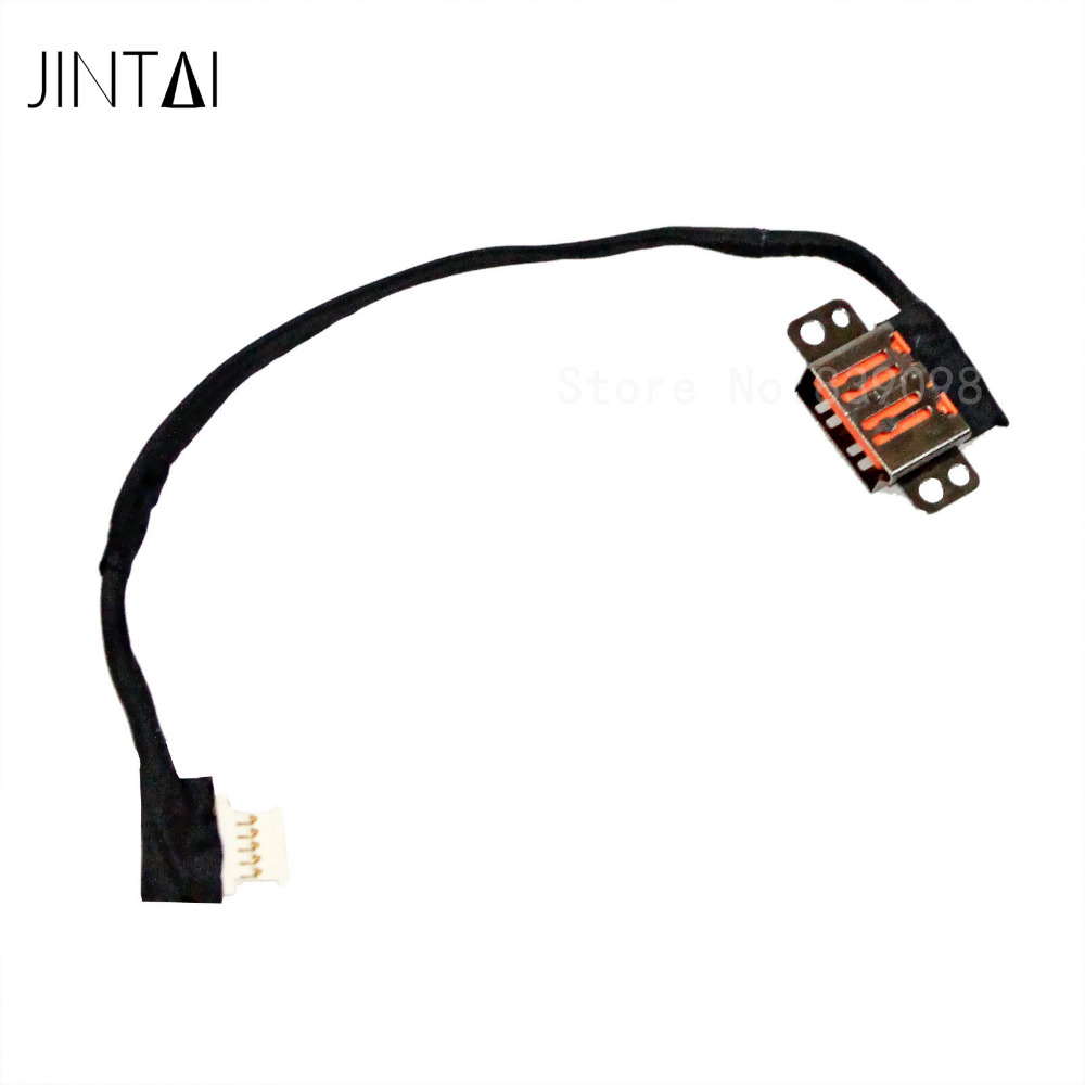 Jintai Laptop DC POWER JACK Socket Cable HARNESS PLUG IN replacement For Lenovo Yoga 900s 900s-12Isk DC30100QP00<br>