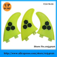 Hot Sale FCS G5 Fins Honeycomb Fin High Quality Surfing Fin(China)