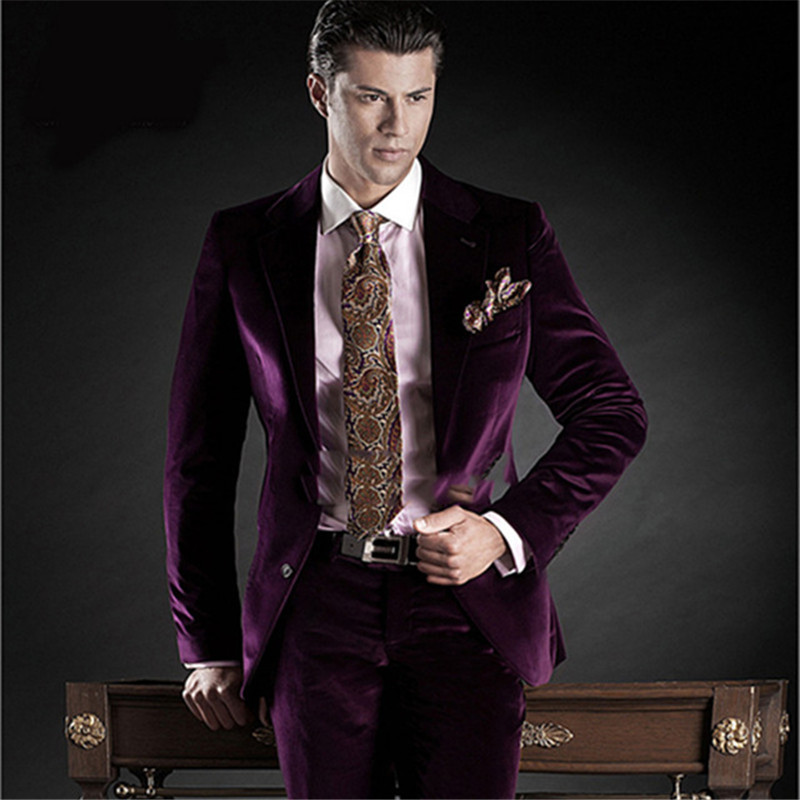 2019 latest coat pant designs Slim Fit two Button man suit Groom Tuxedos Groomsmen Men Wedding Suits Prom Clothing Jacket+Pants