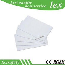 Free Shipping blank RFID EM4305 125KHZ frequency access id card writable write white Printing RFID 125KHz Smart Card