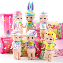 2017 Direct Selling New Unisex Model Sonny Angel Mini Pvc Figure Easter Series 6pcs/set Toys Christmas & Brithday Gift Boxed
