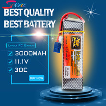 Lipo Battery 11.1v 3000mah 3S 30C EC3 T XT60 Plug Zop Power Polymer Lithium for RC Helicoper Drone