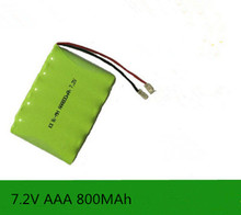 MasterFire Brand New 7.2V AAA 800mAh Ni-MH Battery Rechargeable Batteries Pack(China)