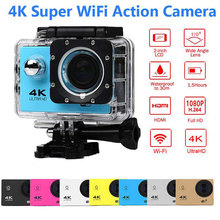 Goldfox Brand Ultra HD 4K WiFi 1080P Action camera DV Sport 2.0 LCD 170D lens go waterproof pro camera Cam