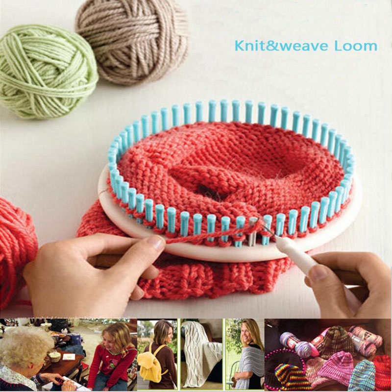 Qjh 4 Pcsset Plastic Circle Looms Diy Weaving Tool Round Sweater