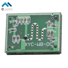 5.8GHZ Microwave Radar Sensor Module 6-9M  Smart Sensoring Switch Home Control 3.3-20V DC