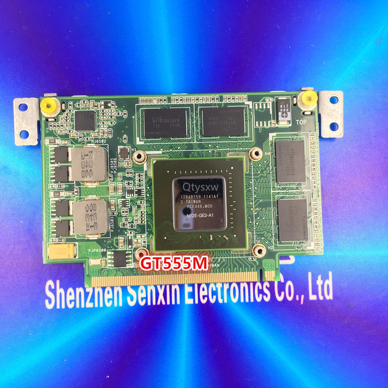 100% tested N55SF graphic card 2GB for ASUS n75s N55S N75SF N55SF N75SL N55SL  GT555M N12E-GE2-A1 VGA  card
