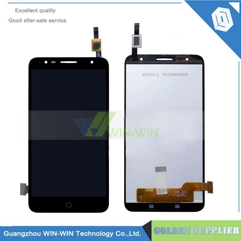 5pcs/lot For Alcatel Pop 4+ 4 plus OT 5056 5056D 5056A OT5056 LCD Display Screen + Touch Screen Digitizer Panel<br>