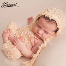Baby Hat Clothes Set Summer Outfit Newborn Photography Props Accessories Baby Boy Girl Hat Baby Photo Props Newborn Fotografia(China)
