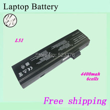 6cells For Uniwill L51-3S4400-G1L3 Laptop battery For Advent 7109A 7109B 7113 8111 Eco 4500A  4500I 4500IW batteries