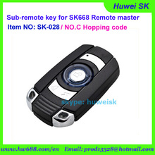 SK028 universal rolling code car key, auto key, NO.C 434MHz copy remote for digital counter, lock smith tool(China)