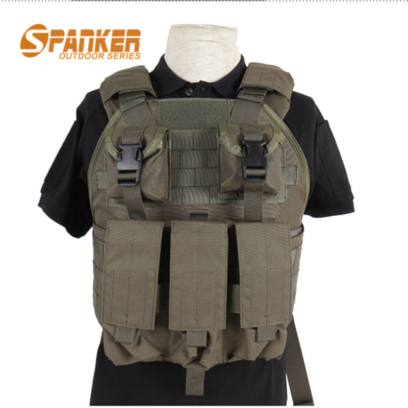 Man 1000D Molle SPC Airsoft Tactical Vest Military Paintball Waterproof Quick Drying Wearable Durable Hunting Shooting Vest<br><br>Aliexpress