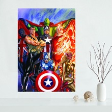 Custom canvas poster Marvel Comics Wall Art cloth Fabric Poster Home Decoration Print your image for wholesale 30 pieces