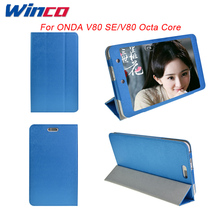 Newest Colorful Ultra-thin Top Quality Fashion Case Cover For Onda v80 se/ V80 Octa Core Tablet PC,Free Shipping With 2 Gifts