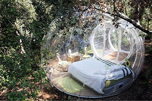 Watch scenery Transparent inflatable lawn bubble tent,bubble camping equipment inflatable beach tent,Inflatable wedding Tent 03