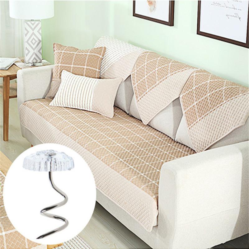 20pcs Clip Pins  Sofa Rotates Fixes Twisted Nails Sofa Bed Sheets No slip Buckle