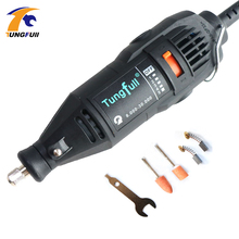 Dremel Style tungfull Mini Grinder DIY Electric Hand Drill Machine with Accessories Variable Speed Dremel Rotary Engrave Grinder