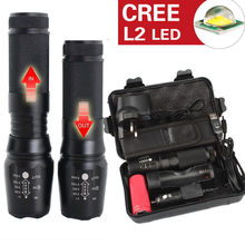 6000lm X800 Tactical Flashlight L2 LED Military Torch kit LED Torch Flashlight Latarka Handheld Linterna Lanterna Powerful Mini(China)