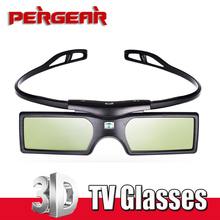 Bluetooth 3D Active Shutter 3D TV Glasses Virtual Reality for Samsung LG 3D TV HDTV Blue-ray Player P0009112(China)